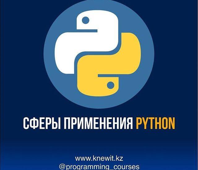 где применяется Python